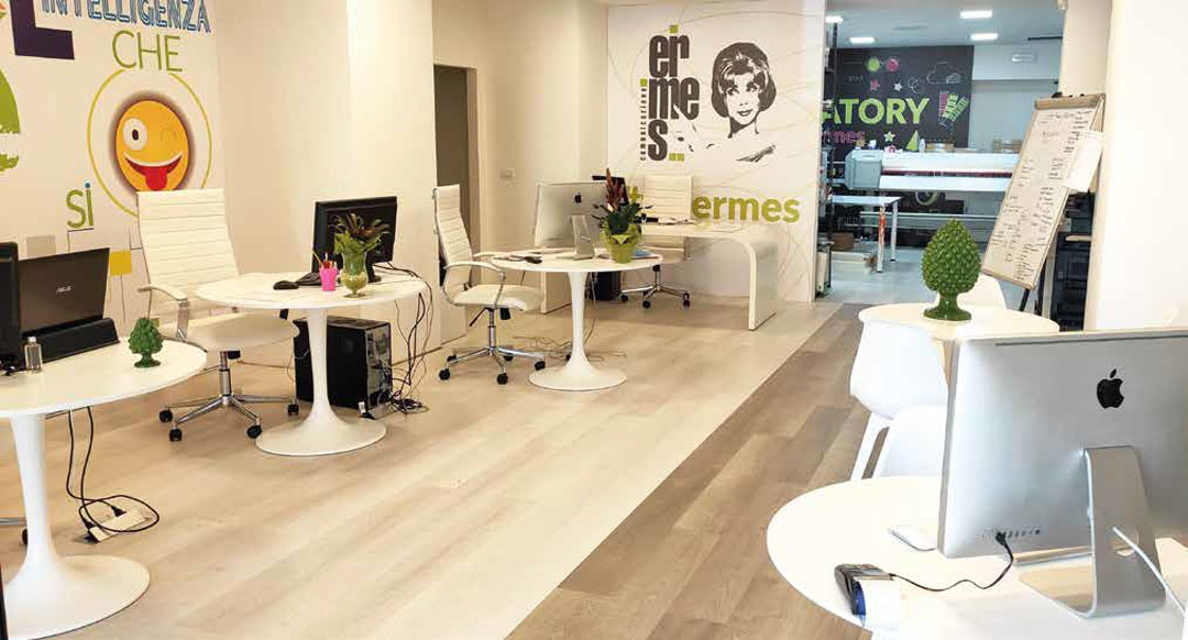 OFFICE AREA/COWORKING - ERMES SPACE